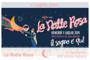 Notte Rosa 2011 Marina di Ravenna - Il sogno è qui