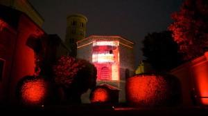 VideoMapping sui Monumenti di Ravenna