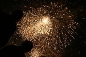 Fuochi d'artificio a Marina di Ravenna