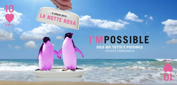 Notte Rosa 2015 - venerdì 3 luglio