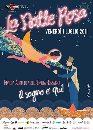 Notte Rosa 2011 - Marina di Ravenna - venerdì 1 luglio 2011